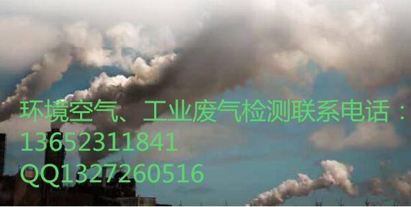 专业工厂废气检测 空气检测工业废气检测化验