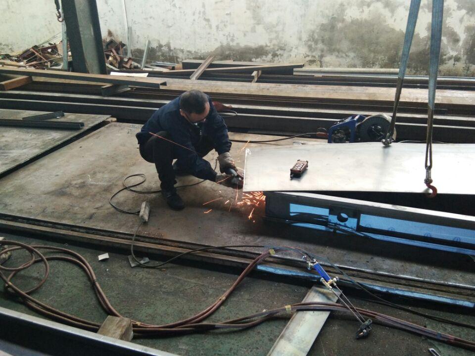 柴油发电机组机架焊接钣金切割