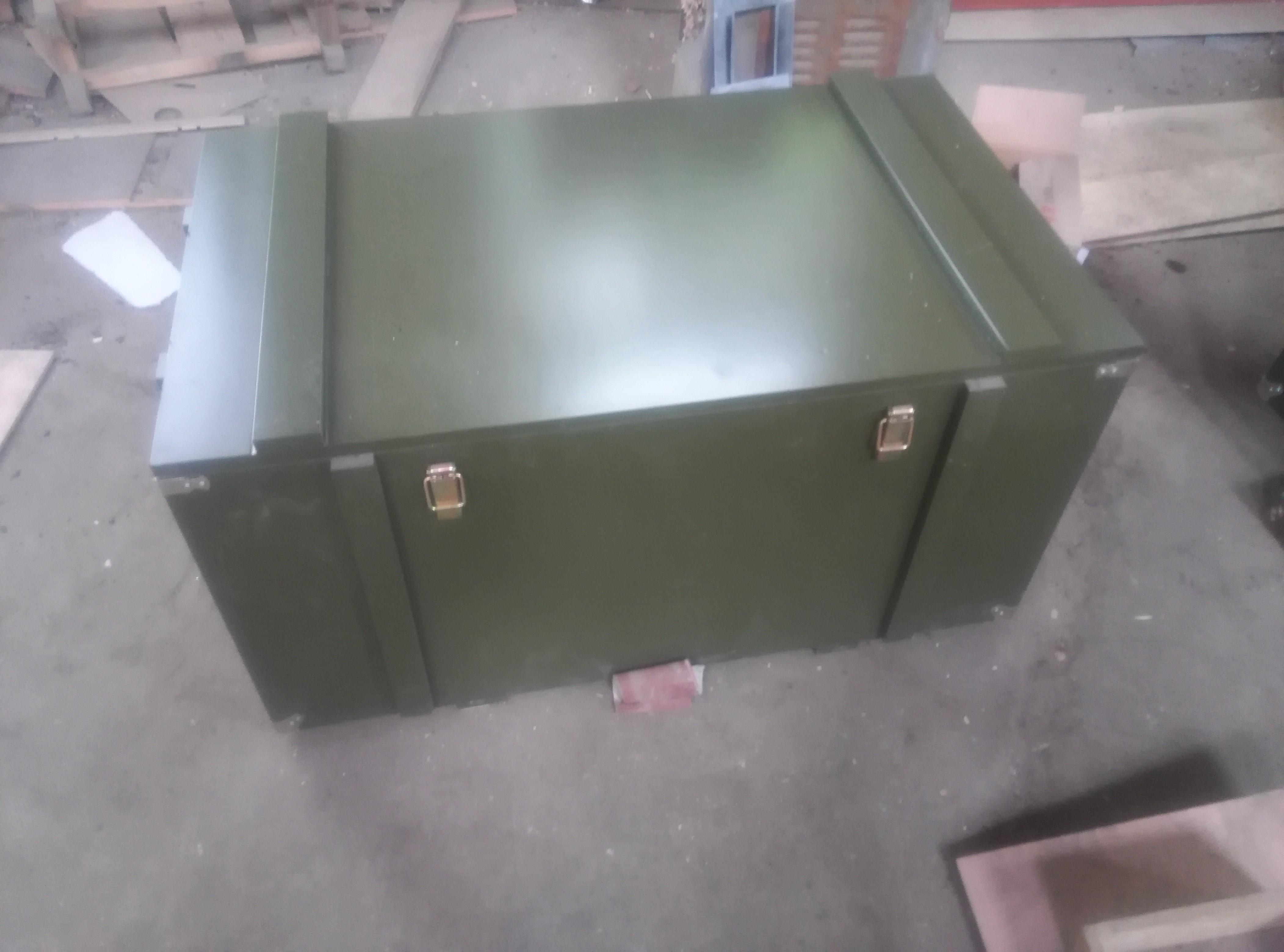 专业生产木质军品箱、木托盘、钢边(折叠)箱、出口免熏蒸箱等