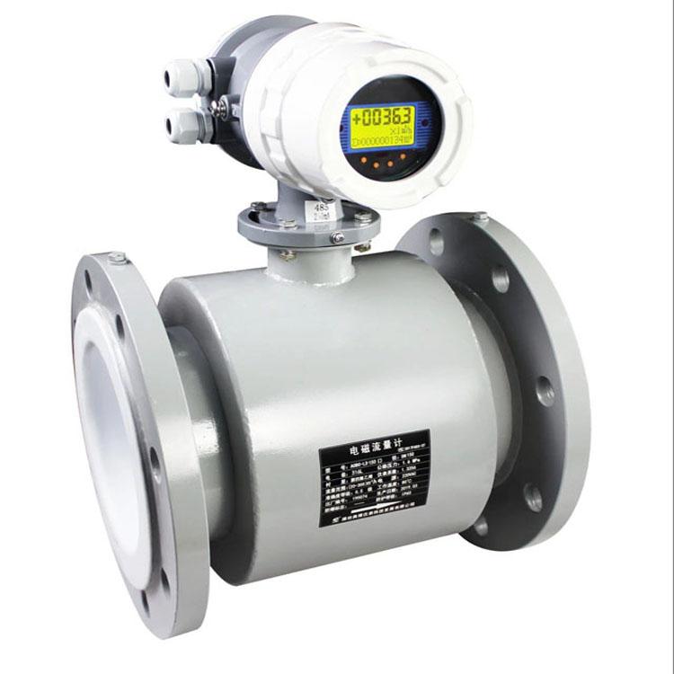 污水处理海水酸碱盐溶液电磁流量计