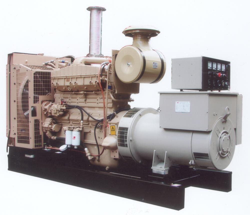 300kW自动化机组