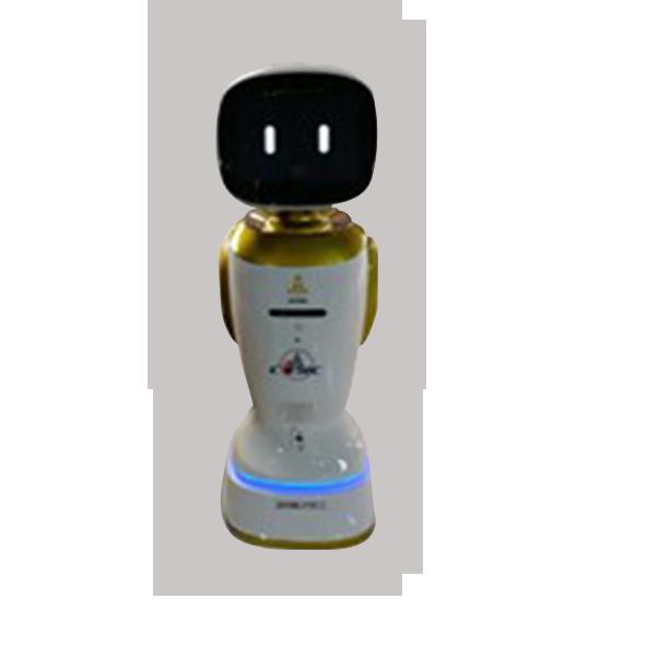 智慧型服务机器人+智能语音+专业信息厍处理。