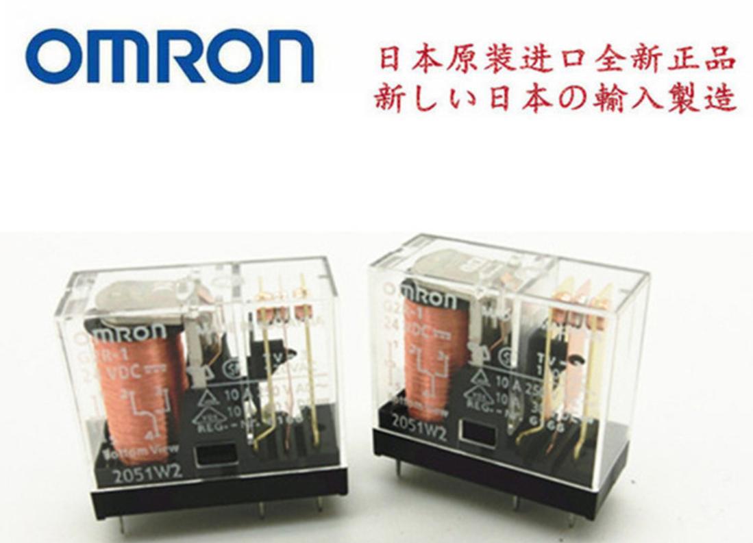 OMRON欧姆龙G2R-1直流DC24V功率继电器原装正品