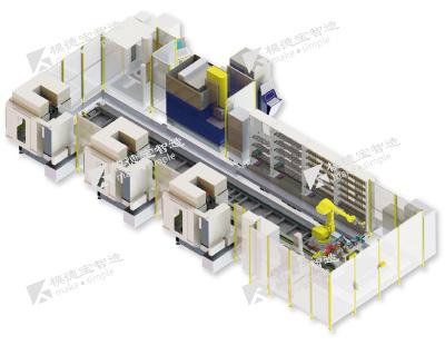 全自动化线柔性制造系统