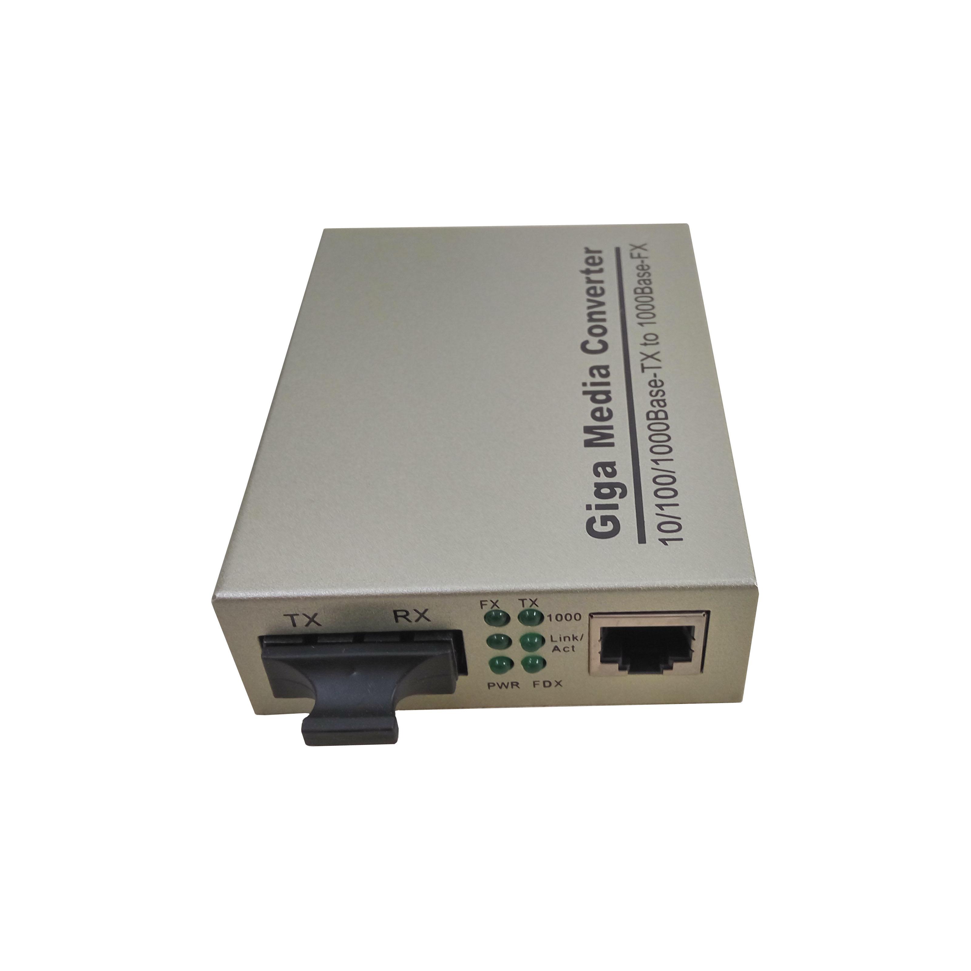 VBN-302光纤收发器千兆单纤/双纤1光1电