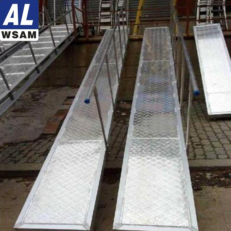 西南铝集团 6A02铝跳板 防滑性好 外形美观